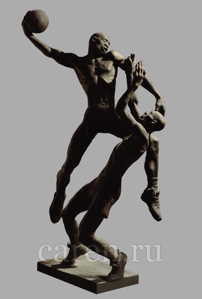 """Скульптурная композиция """"Basketball"""""""
