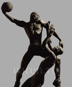 Скульптурная композиция Баскетбол