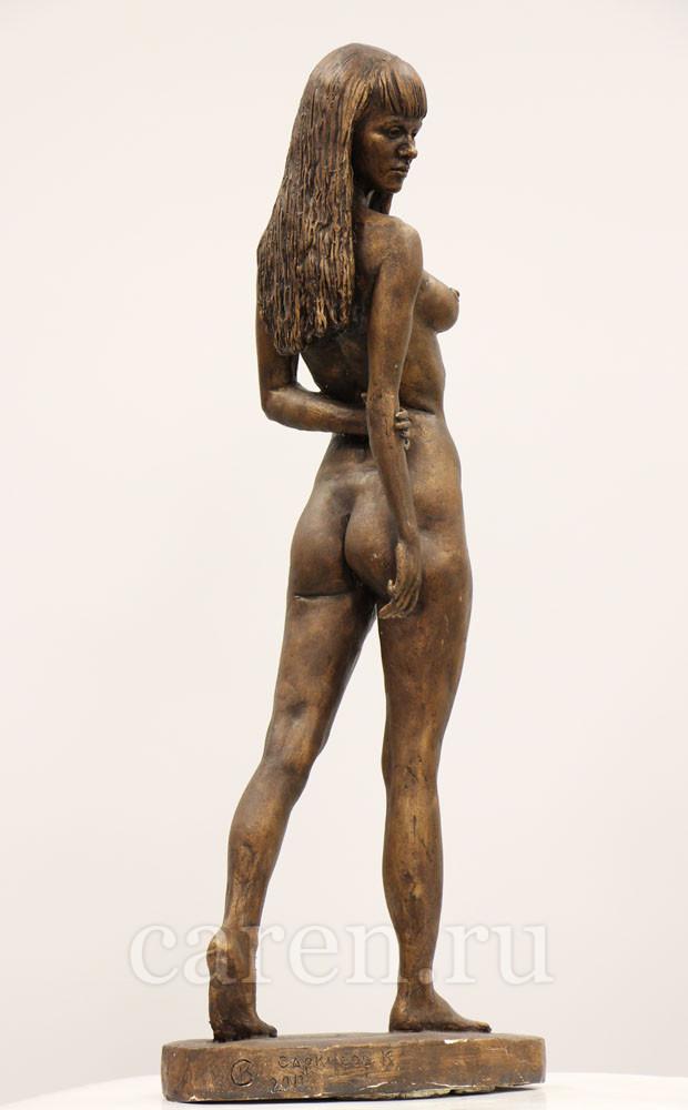 """Скульптурная композиция Ню """"Walking Girl"""""""