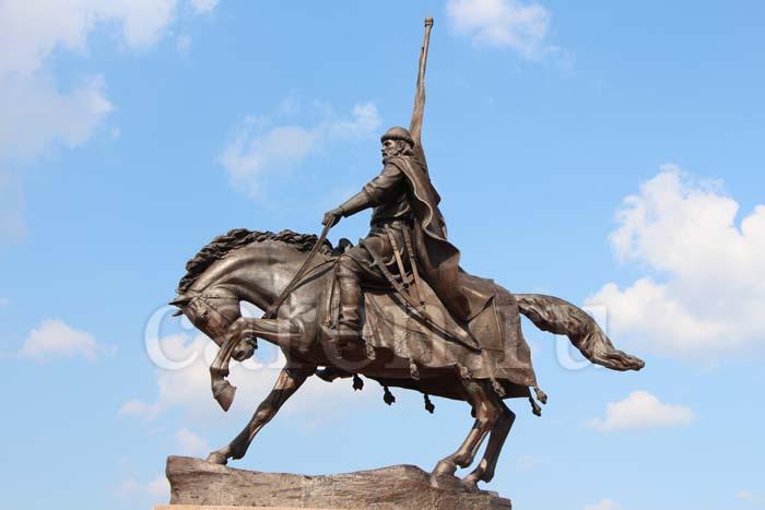 Открытие памятника основателю Самары Князю Григорию Засекину в Самаре