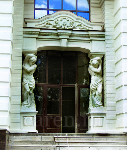 "Атлант ""Entrance with Atlantes"""