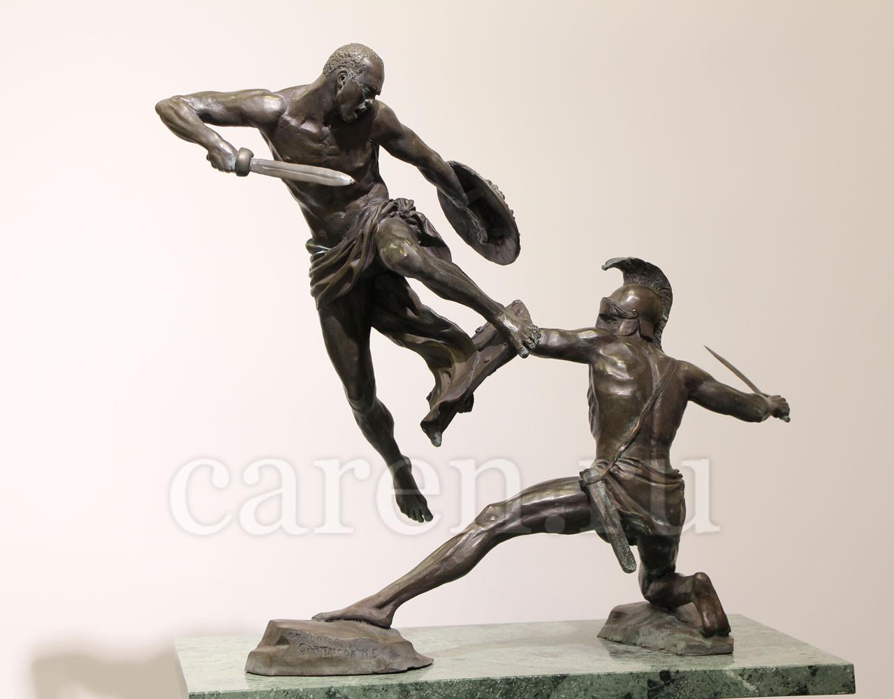 "Скульптурная композиция ""Gladiator's Battle"""