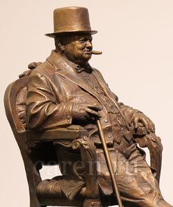 "Скульптурная композиция ""Winston Churchill"""