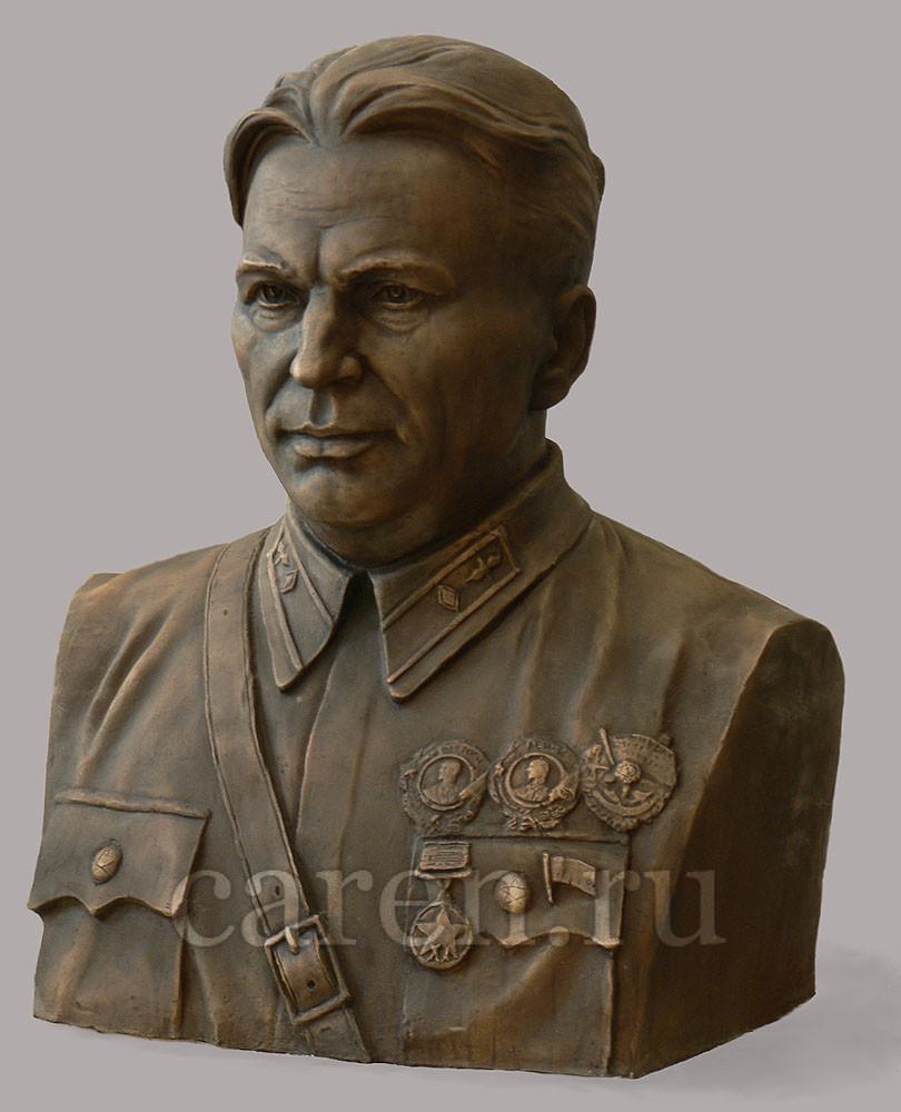 "Бюст ""В. П. Чкалов"""