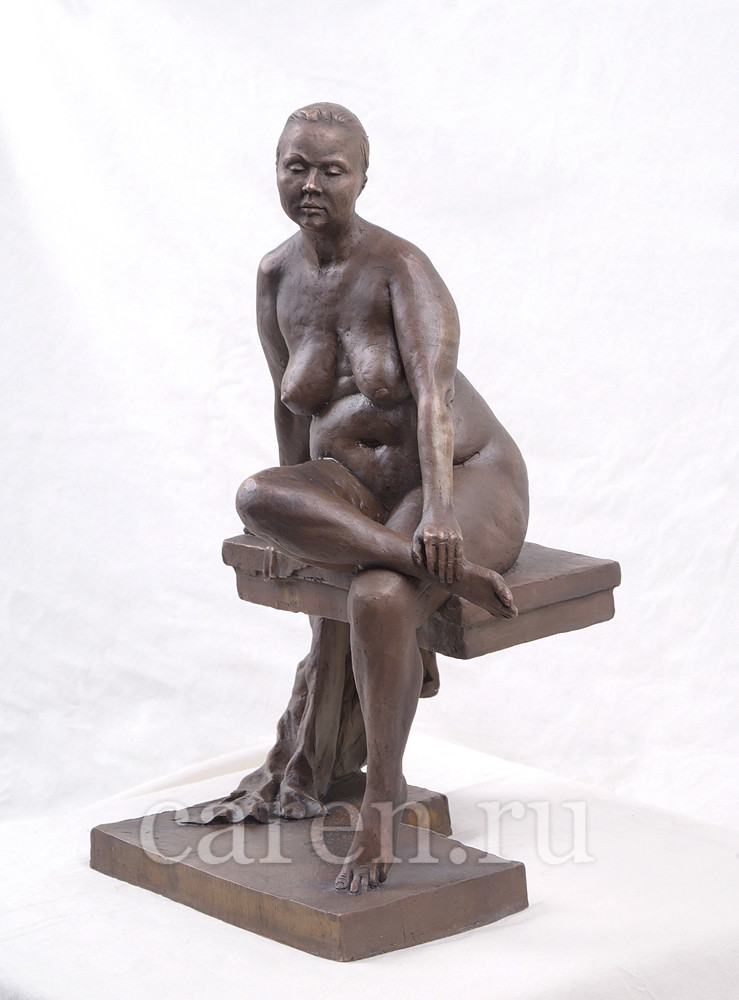 """Скульптурная композиция Ню """"Sitting lady"""""""
