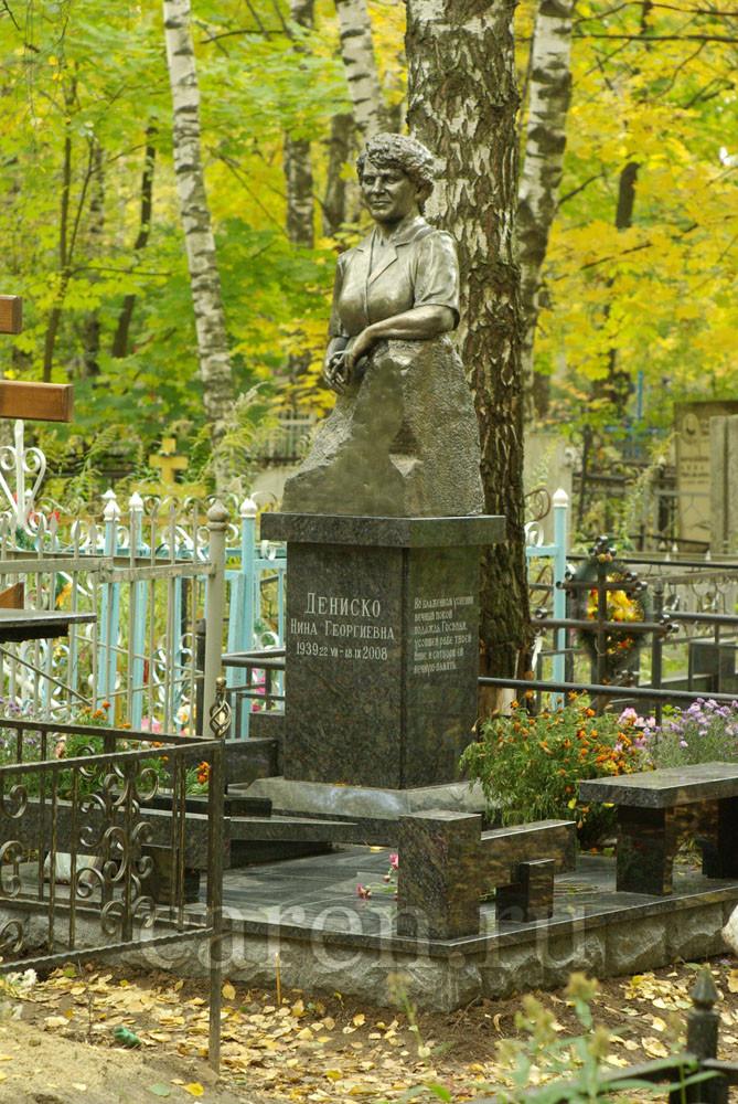 """Надгробие """"Nina Georgievna Denisko"""""""