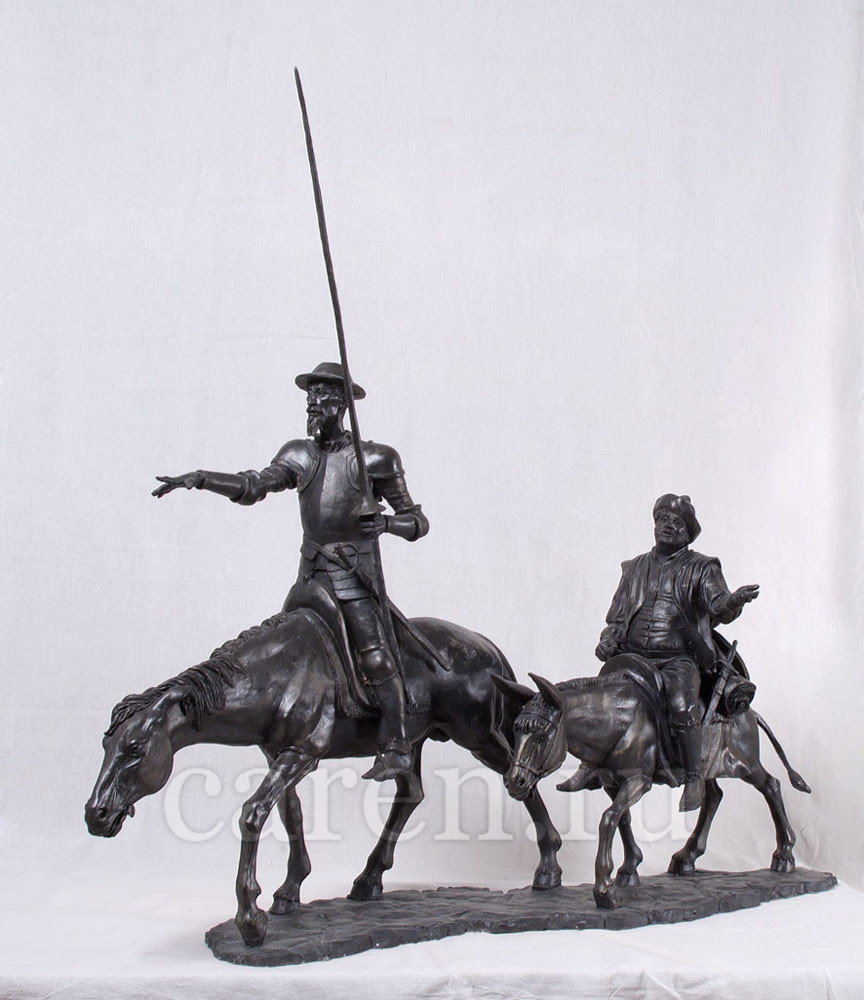 "Скульптурная композиция ""Don Quixote and Sancho Panza"""