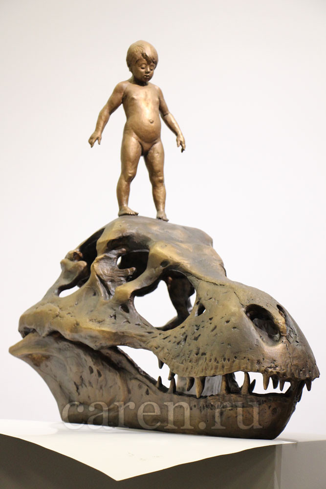 "Скульптурная композиция ""Evolution"""