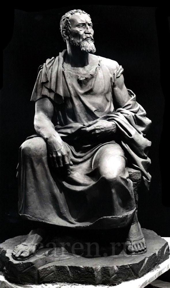 """Скульптурная композиция """"Michelangelo"""""""