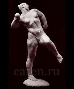 """Скульптурная композиция """"Core thrower"""""""