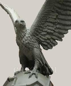 """Скульптурная композиция """"Eagle"""""""