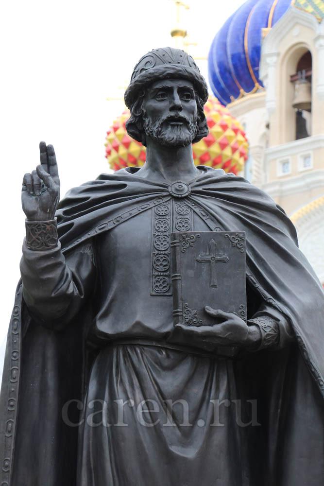 "Памятник ""Most Orthodox Prince Saint Igor Chernigovsky"""