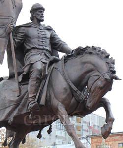 Памятник основателю Самары Князю Григорию Засекину
