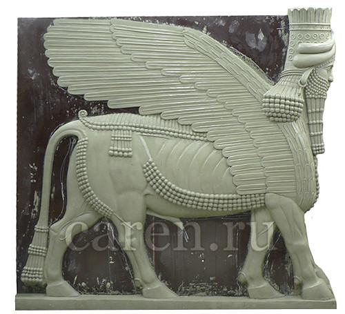 "Рельеф ""Assyrian bull Shedu"""