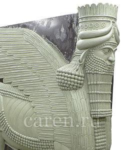 Ассирийский бык Шеду