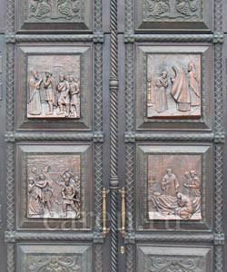 Ворота храма Святого Благоверного Великого Князя Игоря Черниговского