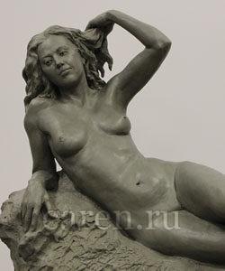 Скульптурная композиция в жанре НЮ - Утро