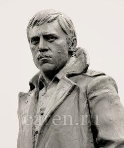 "Скульптура ""V. S. Vysotskiy"""