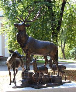 """Памятник """"Reindeers"""""""
