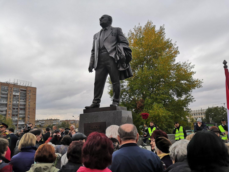 В Самаре открыли памятник Дмитрию Ильичу Козлову