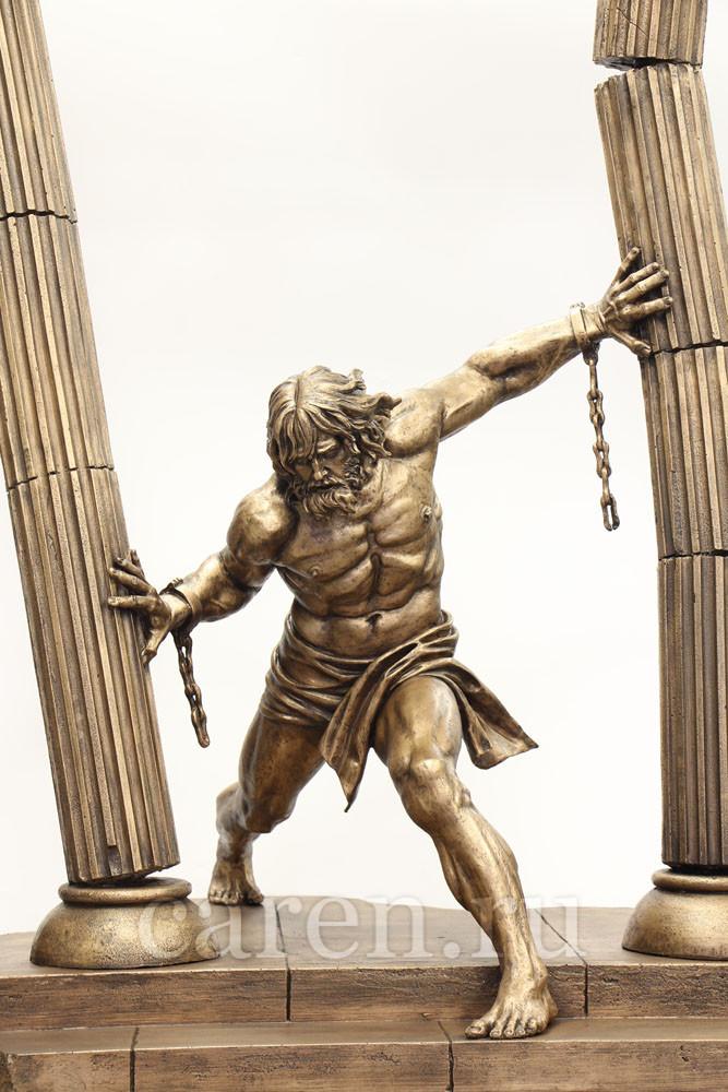 """Скульптурная композиция """"Samson"""""""