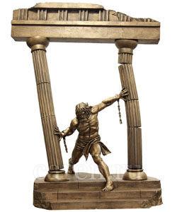 Скульптурная композиция Самсон