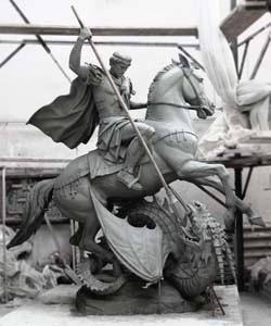 Cкульптура в глине