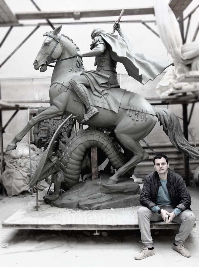 """Скульптура """"Cкульптура в глине"""""""